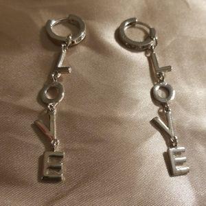 Bcbgeneration  drop dangle  LOVE Earrings